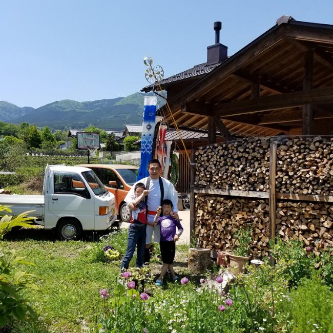 薪小屋のある暮らし